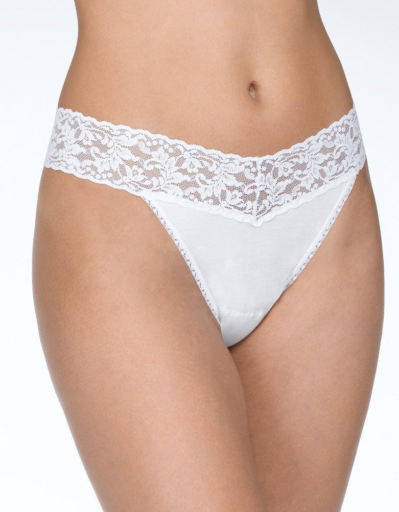 4a01ef0510d Black White Chai Front Hanky Panky 3-PACK Cotton with a Conscience Original