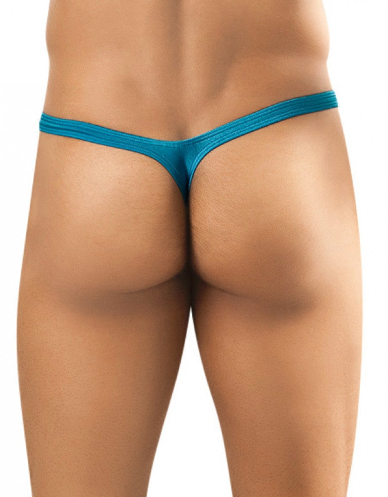 Turquoise Back Joe Snyder Bulge Thong