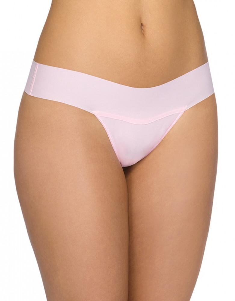 Bliss Pink Front Hanky Panky Bare Eve Natural Rise Thong