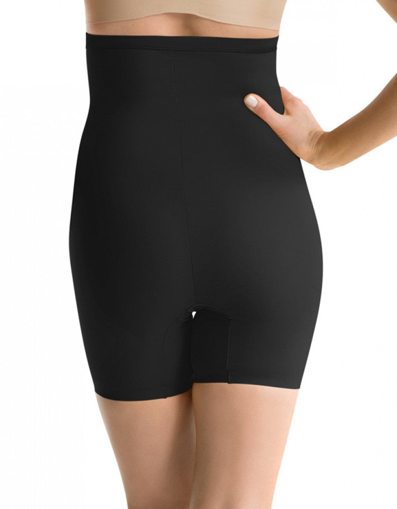 Black Back ASSETS Red Hot Label Clever Controllers High-Waist Mid-Thigh Shaper