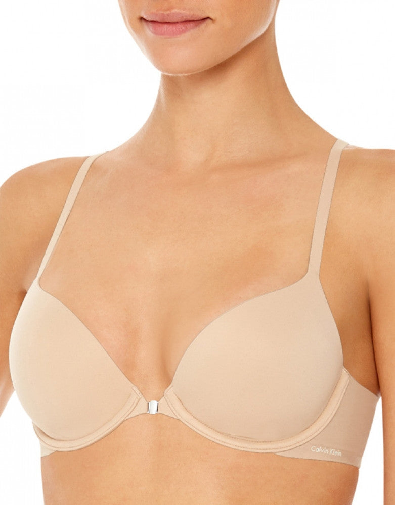 Bare Side Calvin Klein Perfectly Fit Memory Touch Racerback Bra
