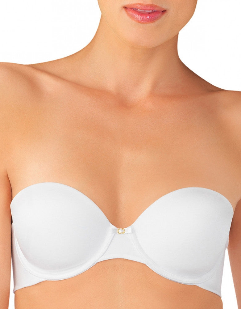Star White Front Vanity Fair Beauty Back Strapless Bra