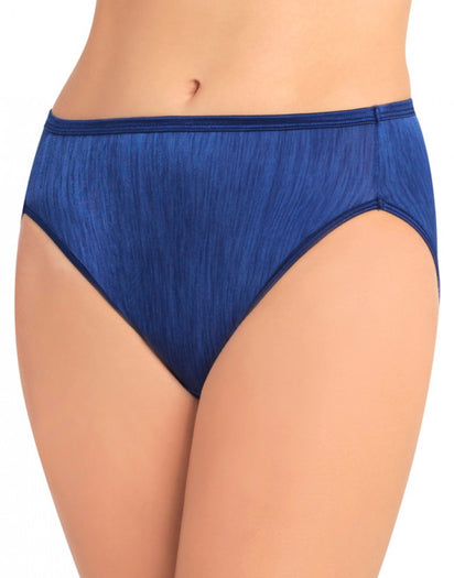 Admiral Navy Front Vanity Fair Illumination Hi-Cut Panty