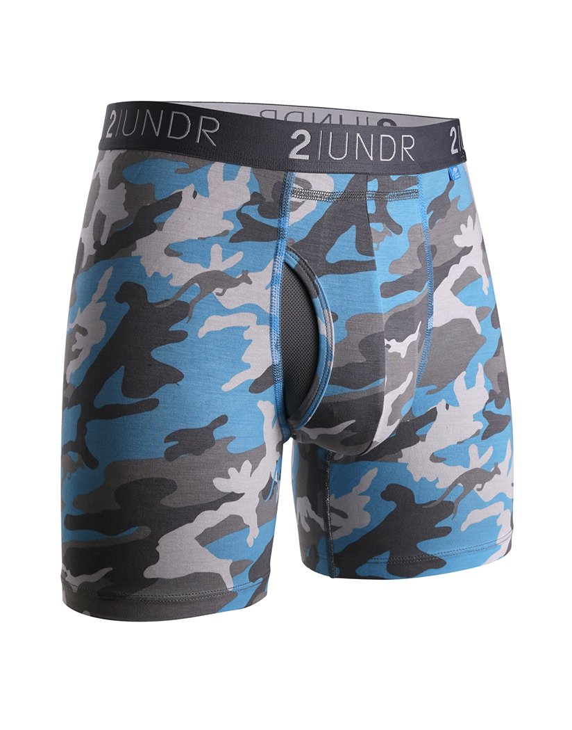Ice Camo Front 2UNDR Men's Swing Shift Boxer Brief Ice Camo 2U01BB