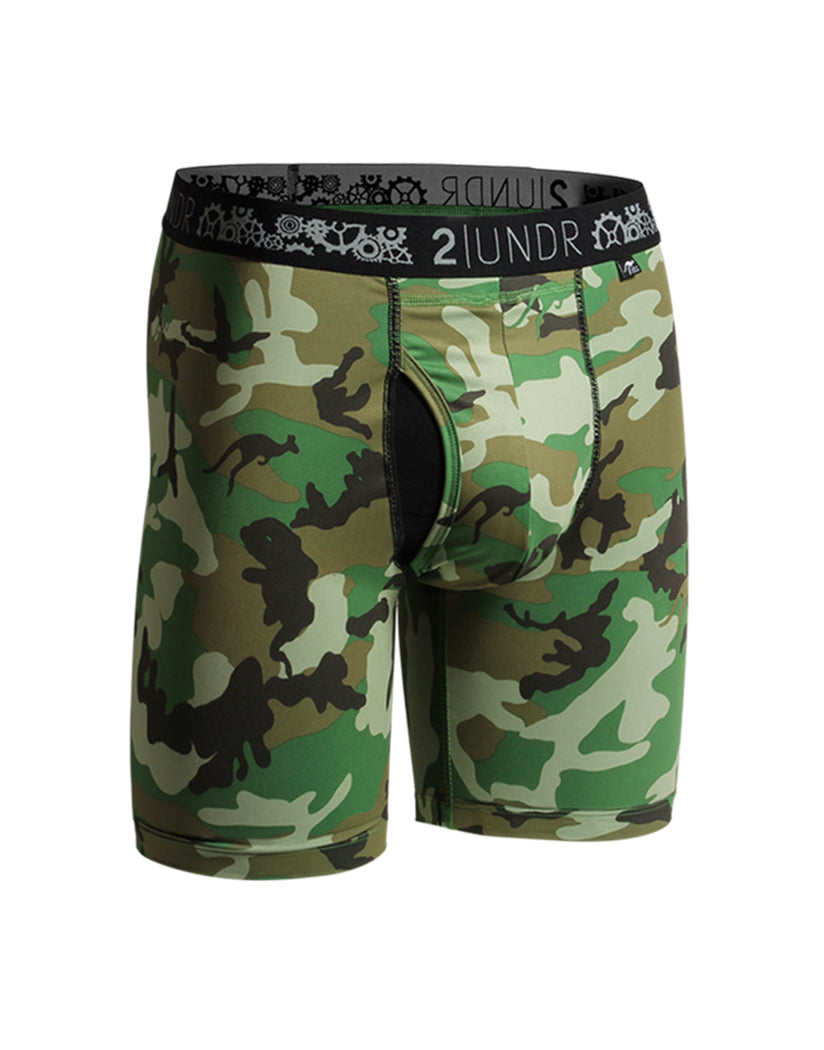 Woodland Camo Front 2UNDR Gear Shift Performance Long Legs Woodland Camo 2u02ll