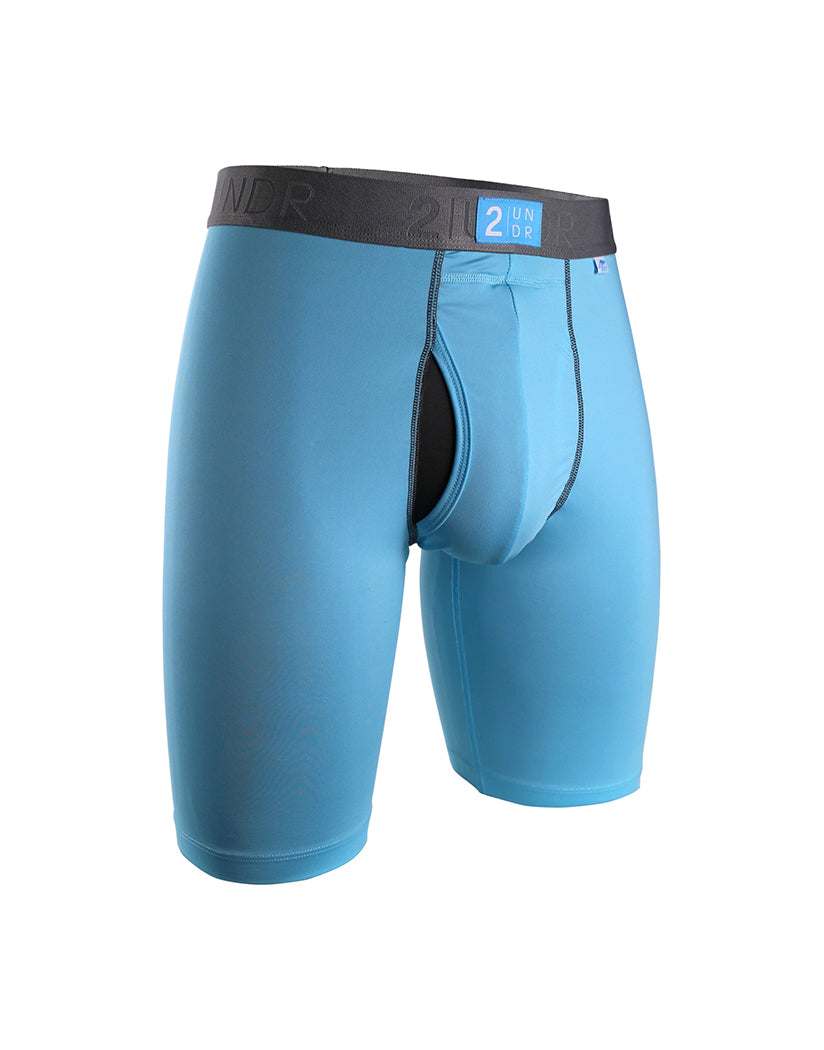 Light Blue Front 2UNDR Power Shift Long Leg Light Blue-Large Sizes