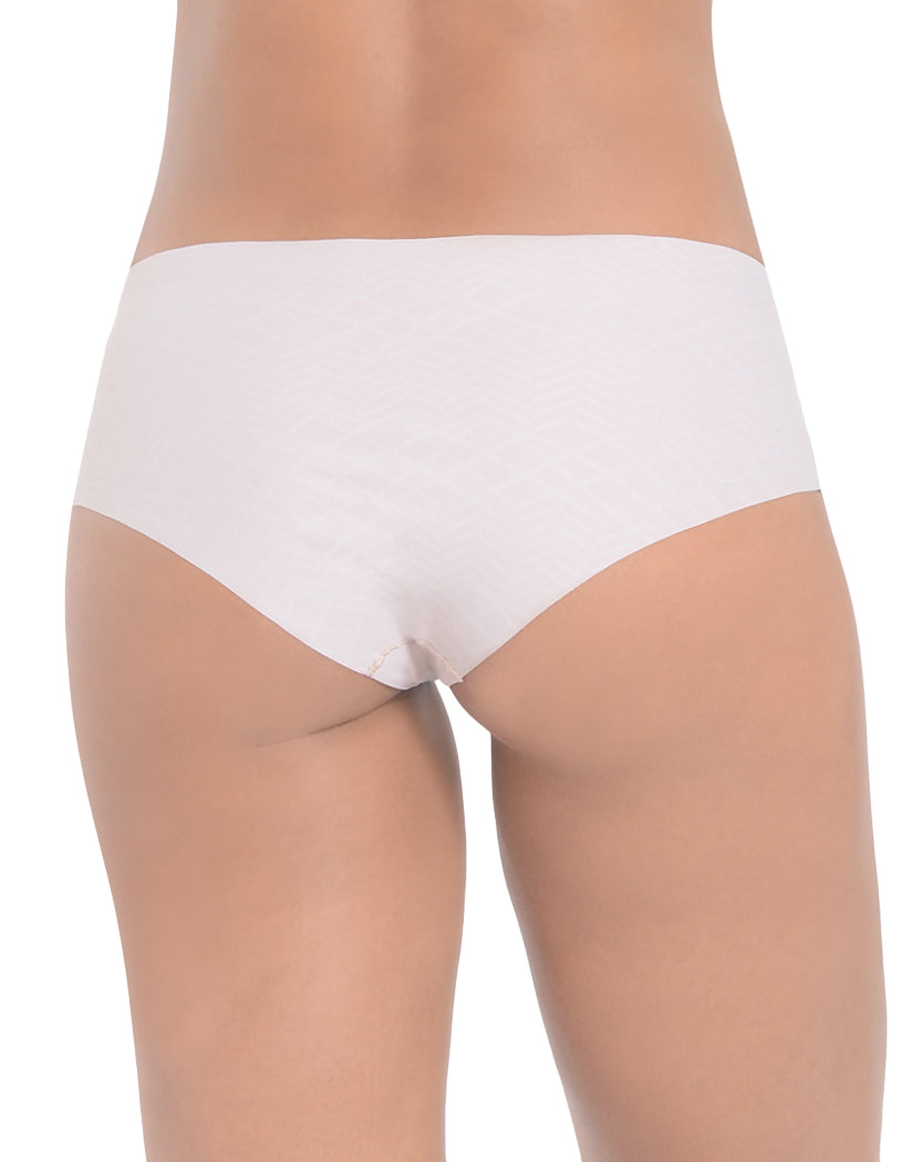 Nude Back 2xist Women Laser Cut Micro Hipster Panty