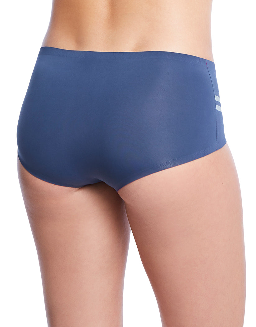 Indigo Blue Back 2xist Athletic Micro Hipster with Bonded Edges