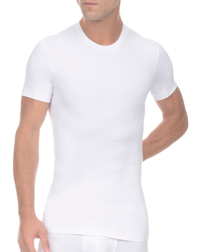 White Front 2xist Men's Form Crew Neck x04505