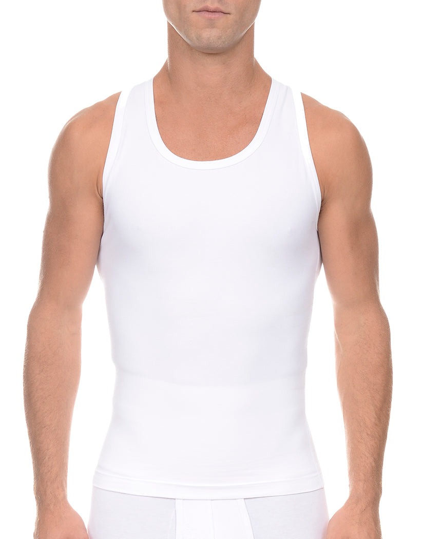 White Front 2xist Men's Form Tank Top X04506