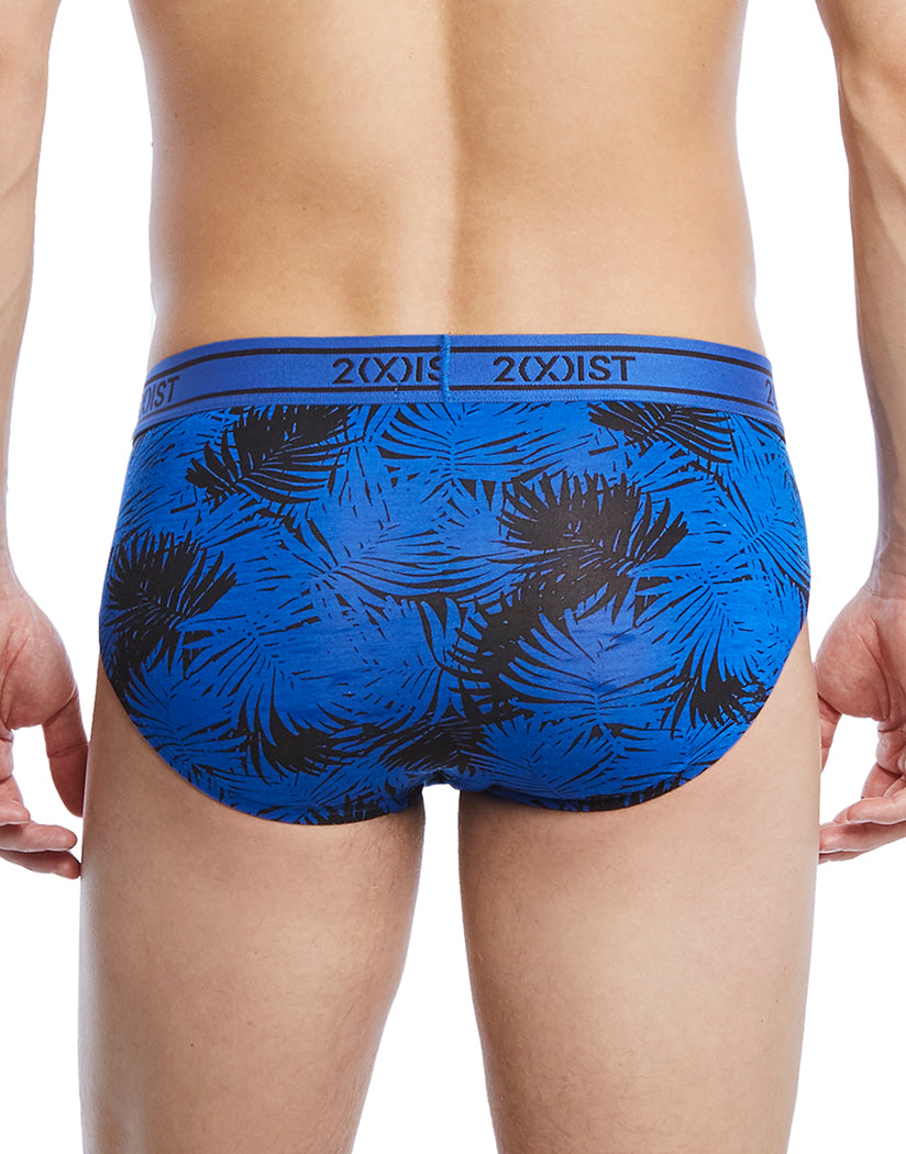 Palm Leaf Royal Back Graphic Modal No Show Brief