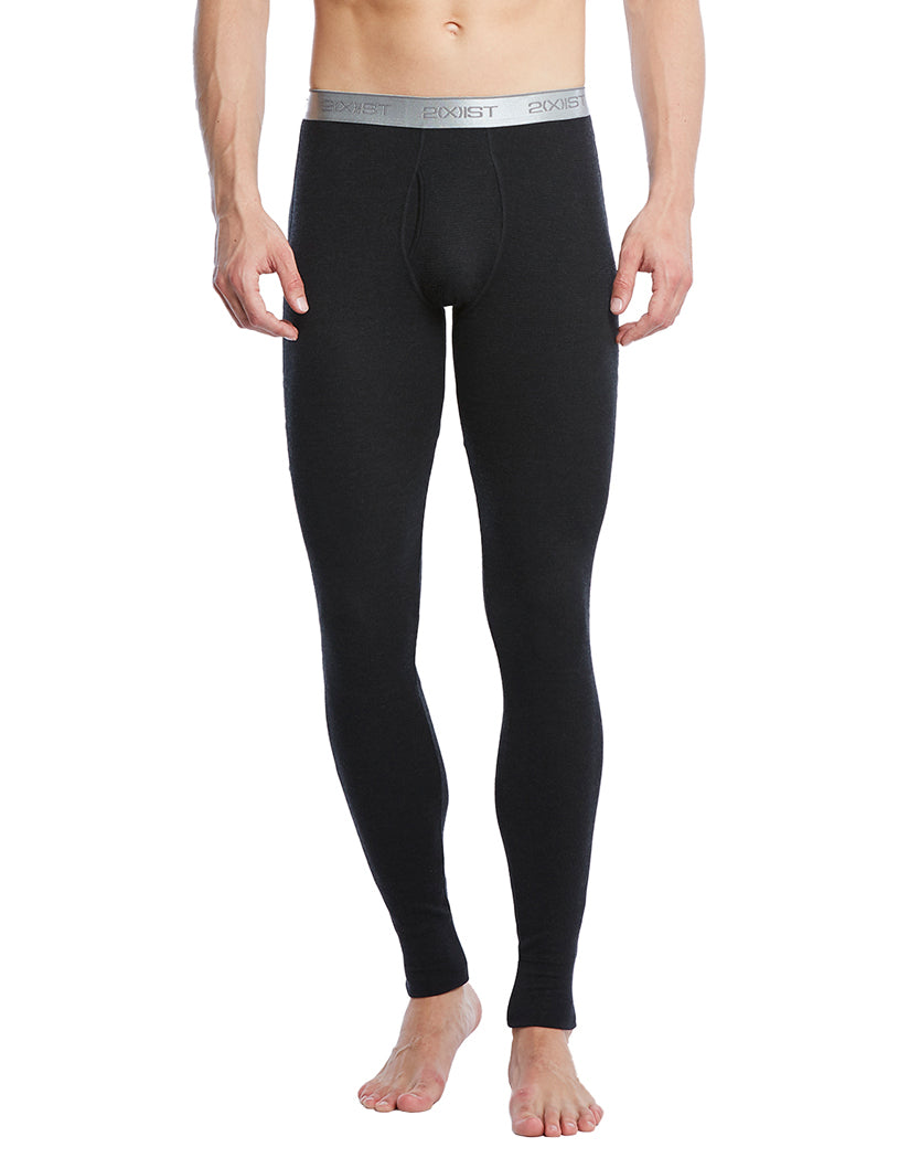 Black Front Sport Tech Long John Pant