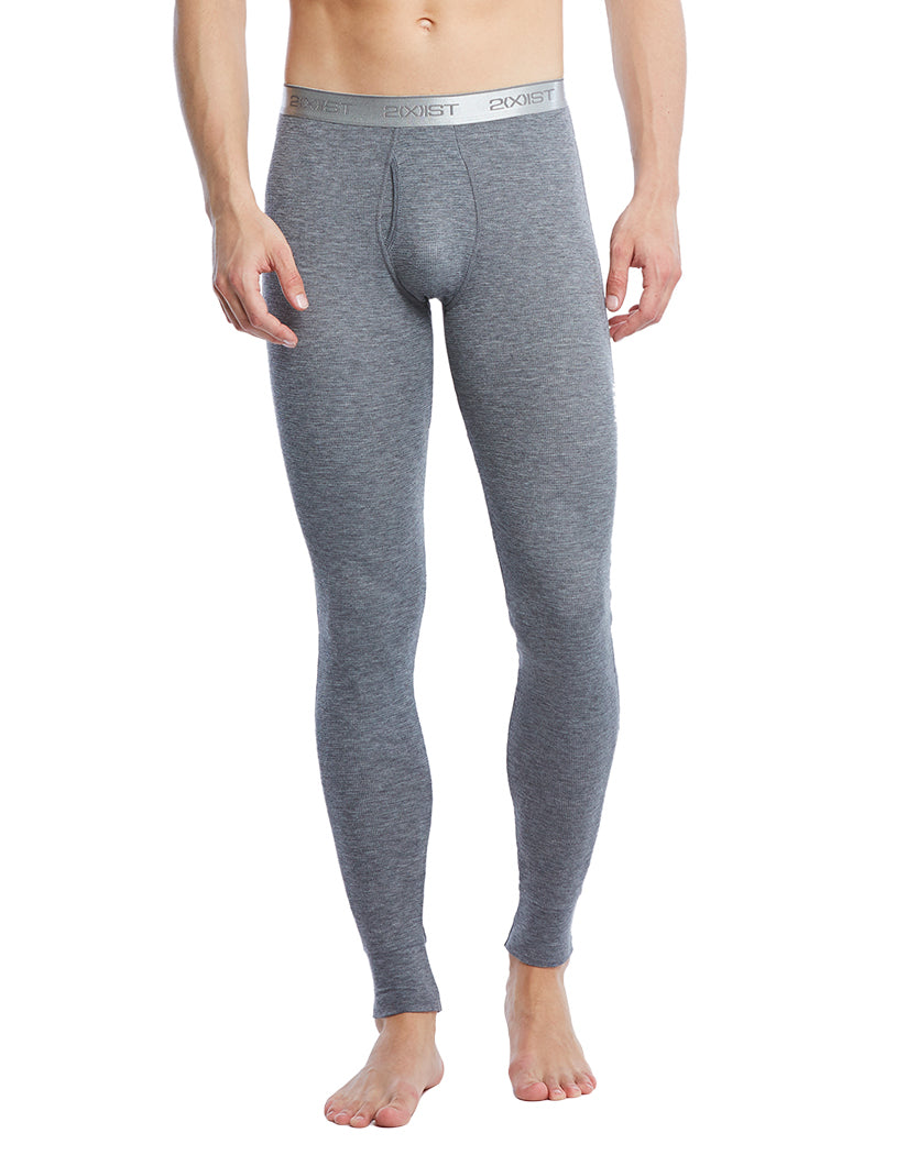 Charcoal Heather Front Sport Tech Long John Pant