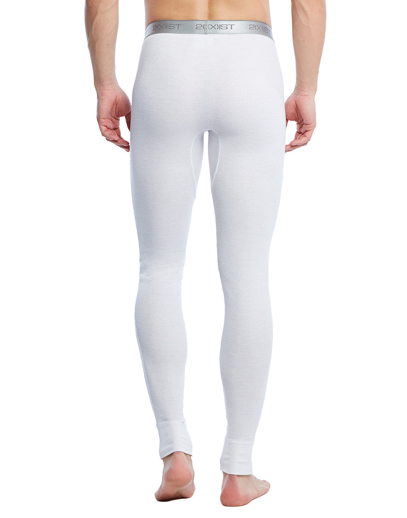 White Back Sport Tech Long John Pant