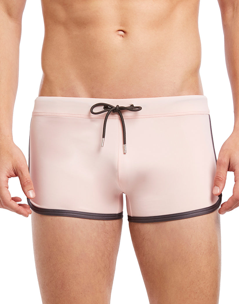 Millenial Pink Front 2xist Cabo Swim Jogger