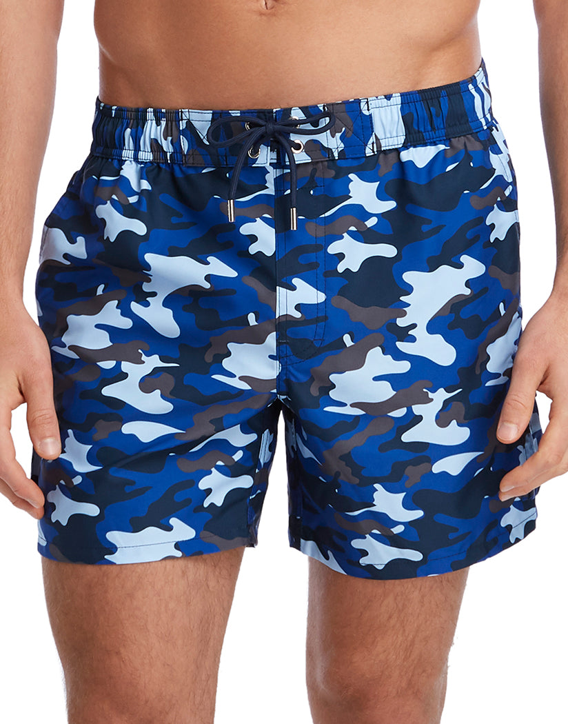 Traditional Camo- Blue Front 2xist Woven Swim Cargo Short 151015