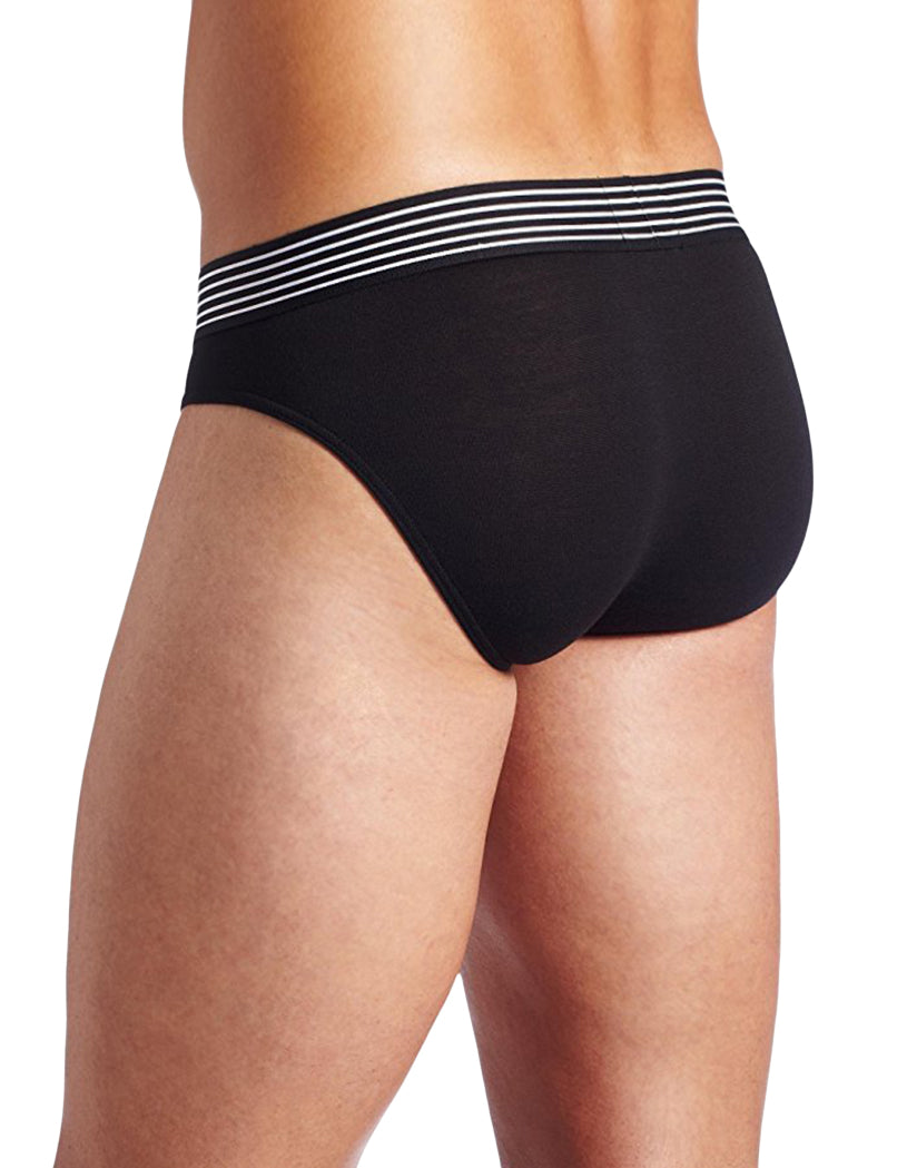 Black Back 2xist Men's Maximize Sculpted Contour Pouch Brief X03240
