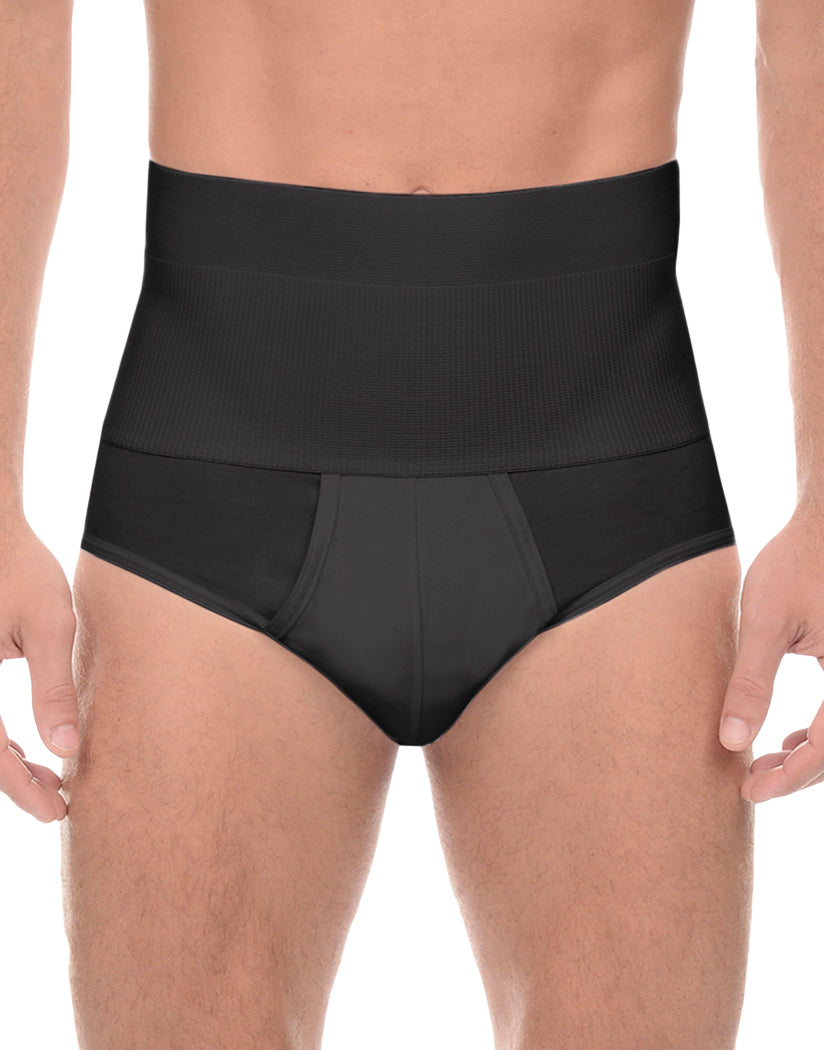 Black Front 2xist Form Shaping Contour Pouch Brief