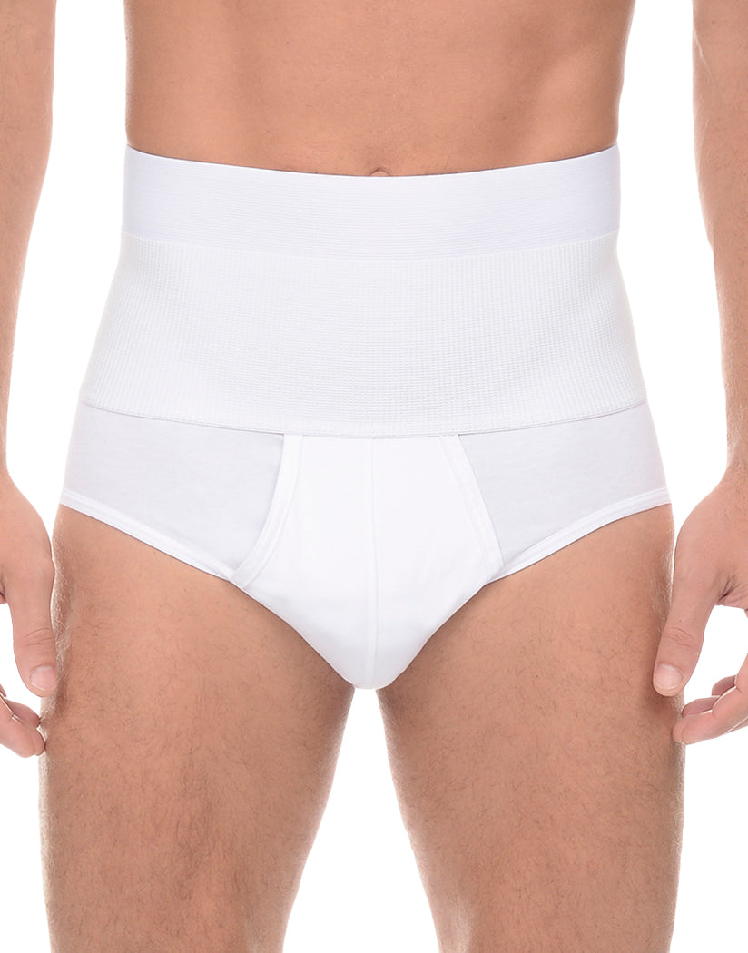 White Front 2xist Form Shaping Contour Pouch Brief