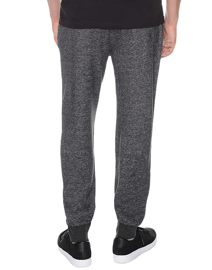 Black Heather Back Terry SweatPant