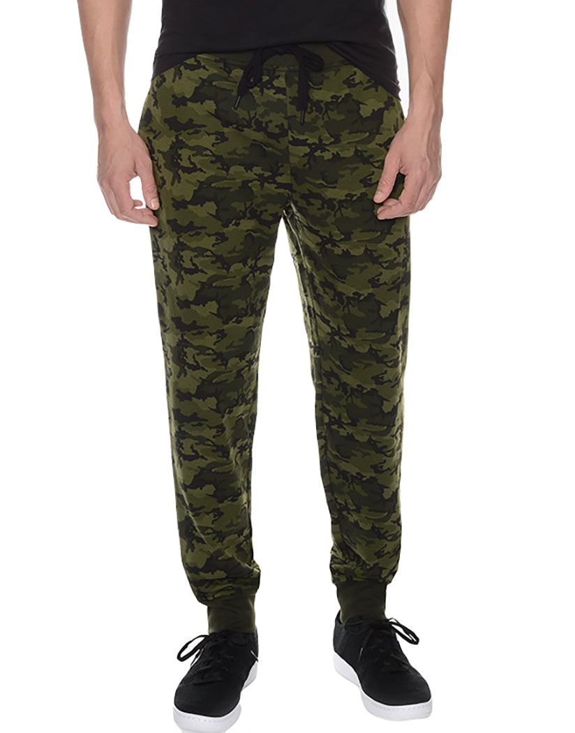 Olive Camo Front Terry SweatPant