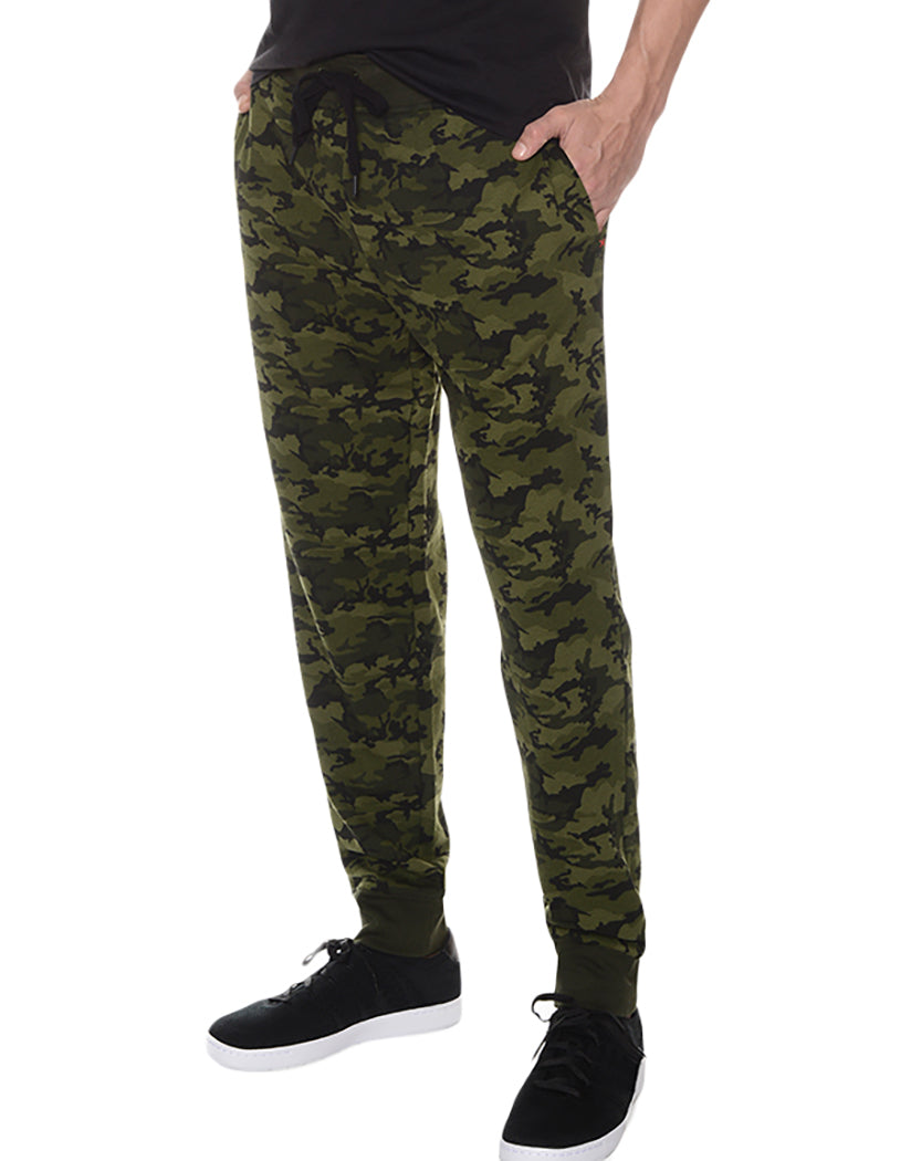 Olive Camo Side Terry SweatPant