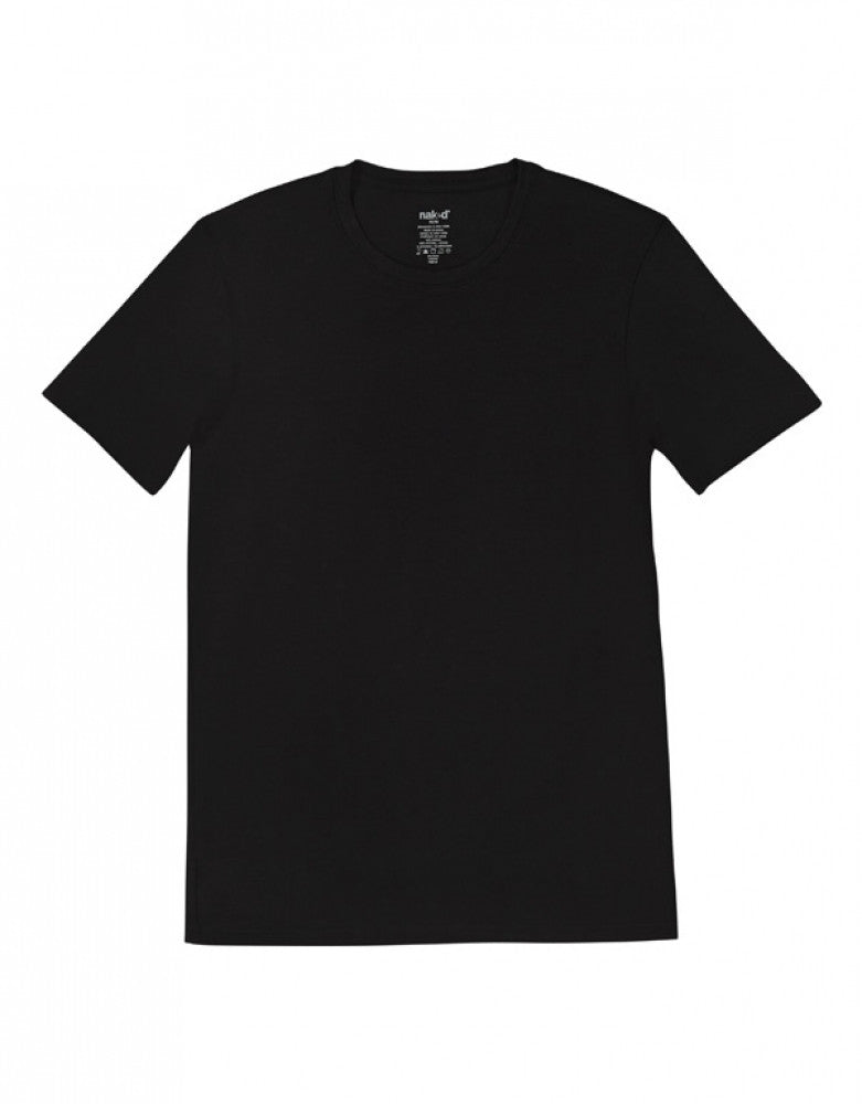 Black Other Naked Signature Modal Cotton Crew T-Shirt