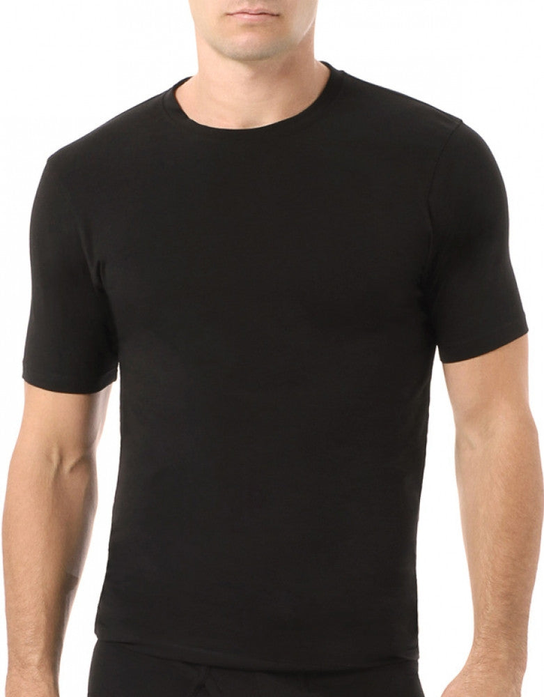 Black Front Naked 2-Pack Essential Crew Neck T-Shirts