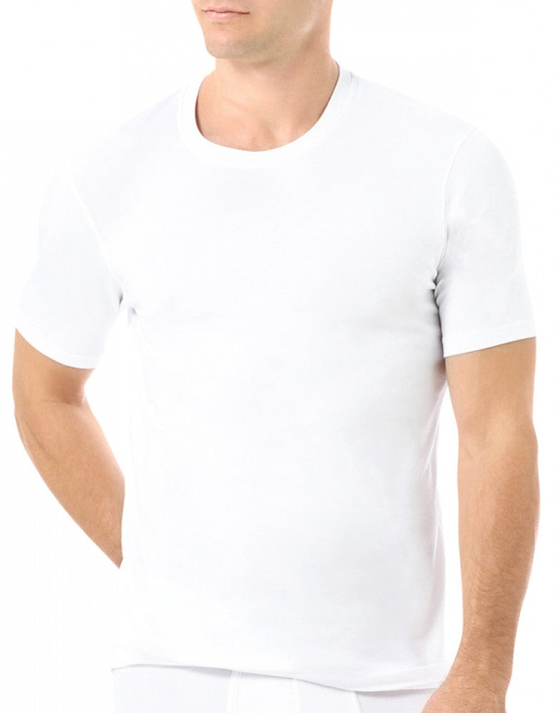 White Front Naked Signature Modal Cotton Crew T-Shirt