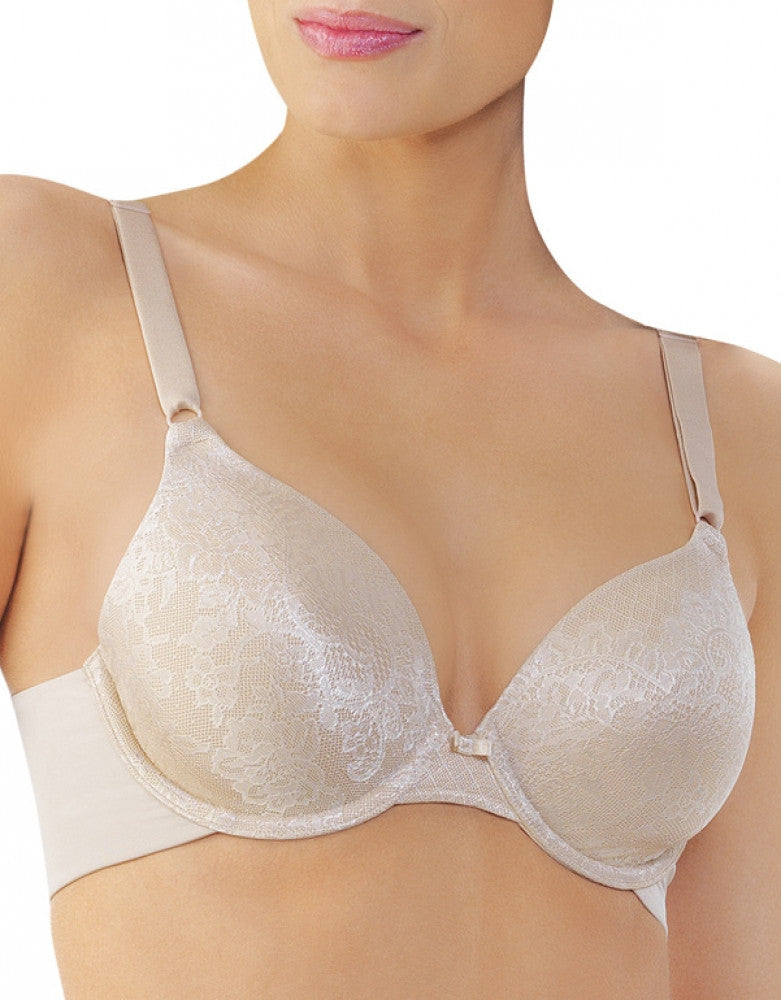 Damask Neutral Front Vanity Fair Beauty Back Lace Full Coverage Bra