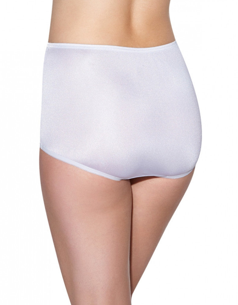 Star White Back Vanity Fair Perfectly Yours Ravissant Premium Tailored Nylon Brief