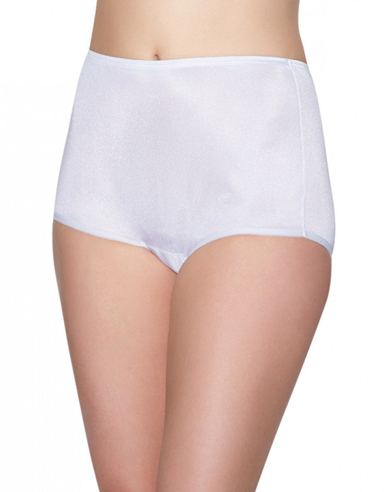 Star White Front Vanity Fair Perfectly Yours Ravissant Premium Tailored Nylon Brief - 15712