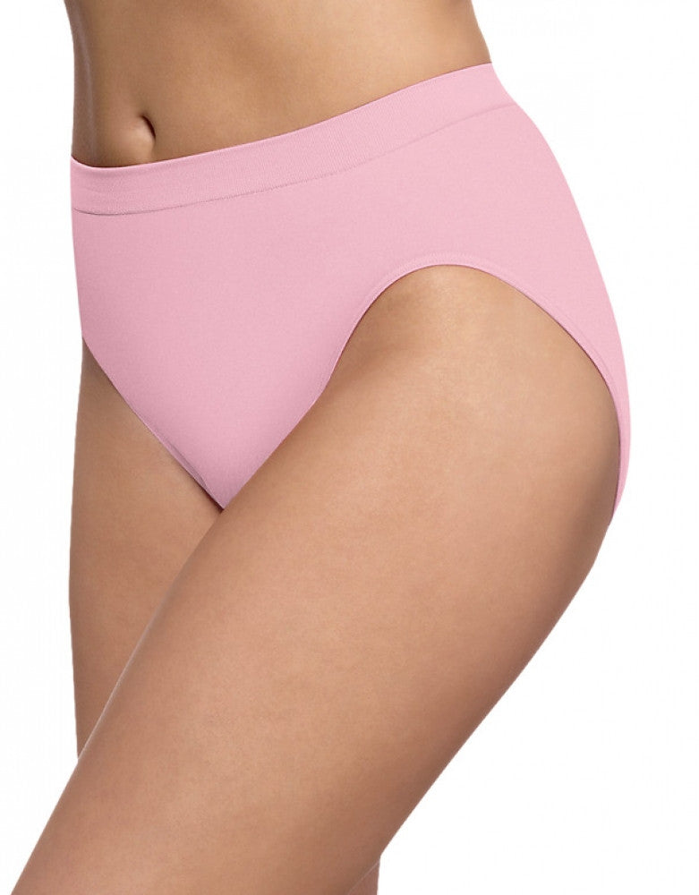 Pink Sand Front Bali Barely There Comfort Revolution Microfiber High Cut Brief
