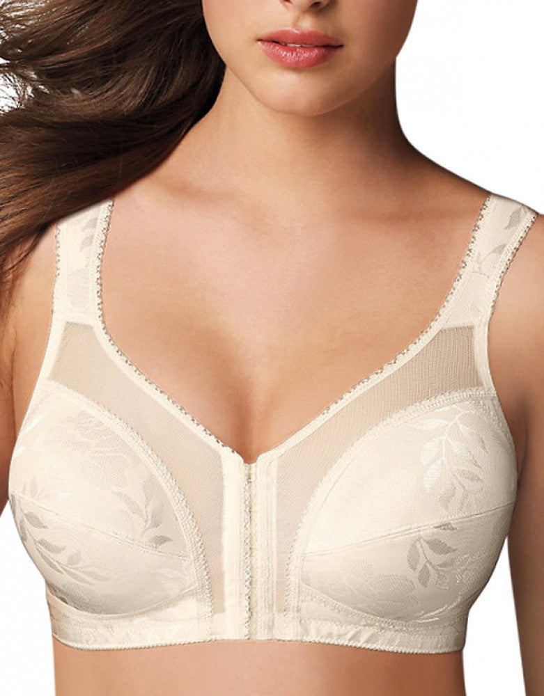 Light Beige Front Playtex 18 Hour Front Close with Flex Back Bra