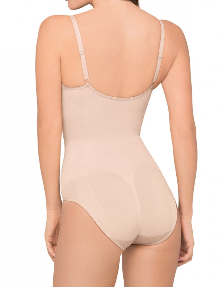 Nude Back Body Wrap Wireless Bodysuit