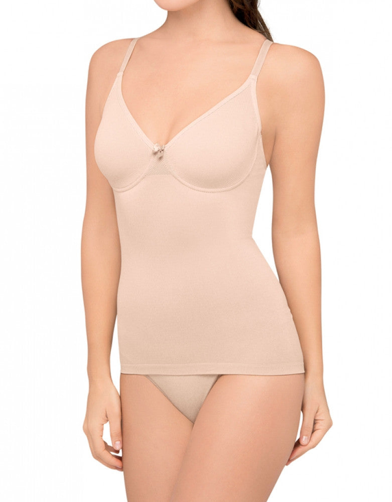 Nude Front Body Wrap Underwire Shaping Camisole