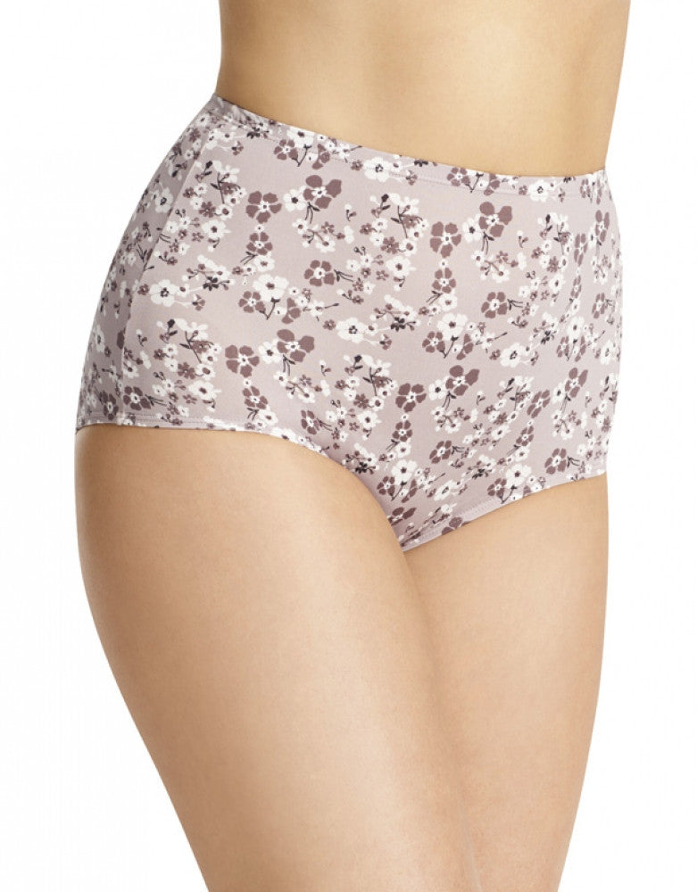 Mink Floral Front Olga Without a Stitch Micro Brief