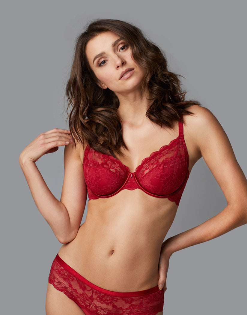 Ruby Front Le Mystere Light Luxury Cut & Sew Bra 4111