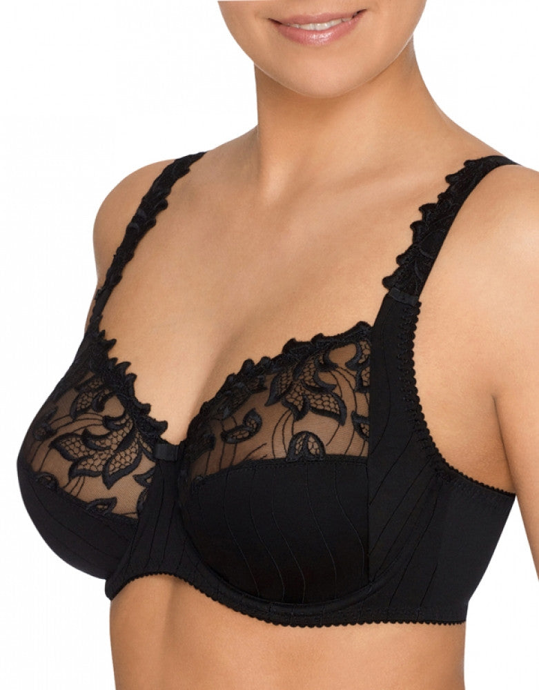 Black Side PrimaDonna Deauville Full Cup Bra