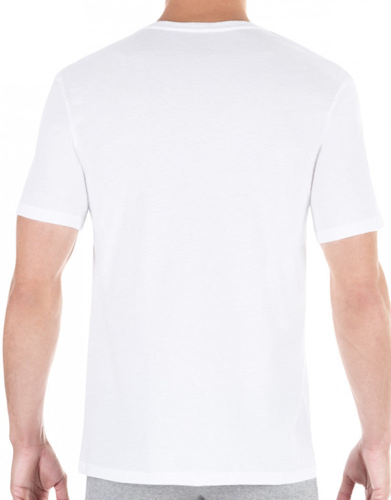 White Back Tommy Hilfiger 3-Pack Classic V-Neck T-Shirts