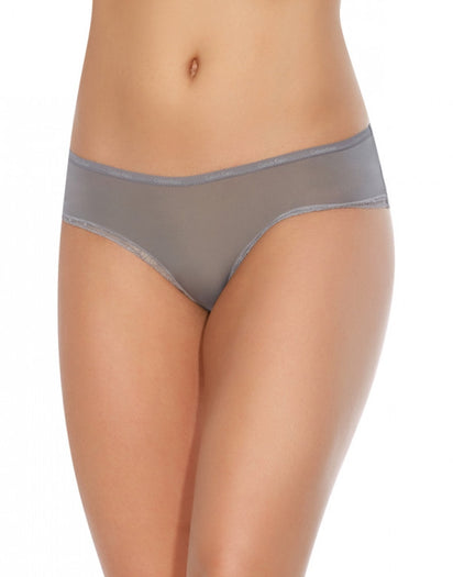 Steel Grey Front Calvin Klein Bottoms Up Hipster