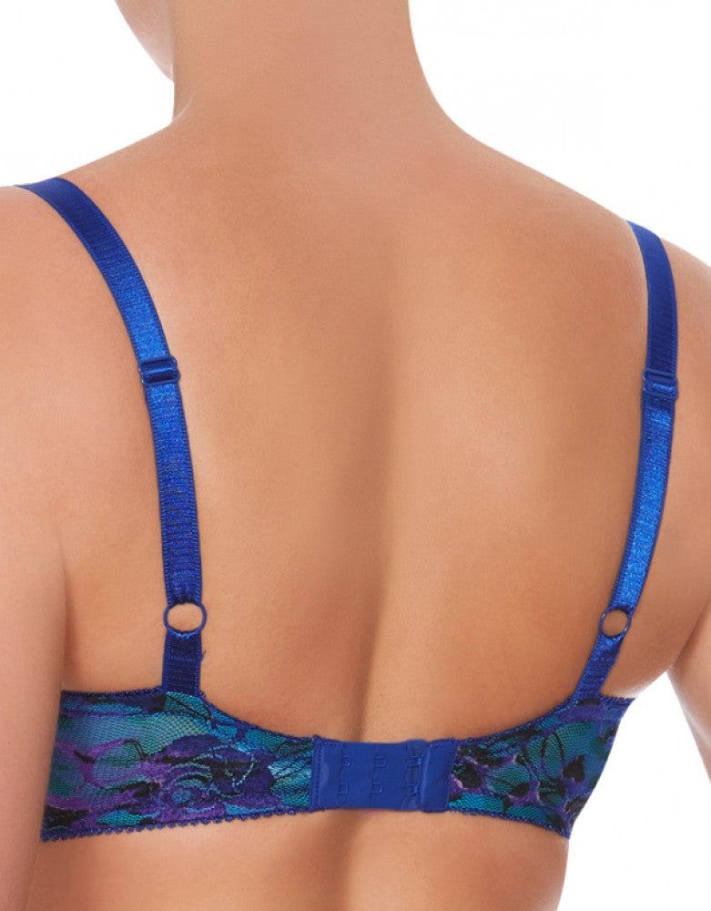 Purple Back Lunaire Saint Lucia Helenca Lace Underwire Bra