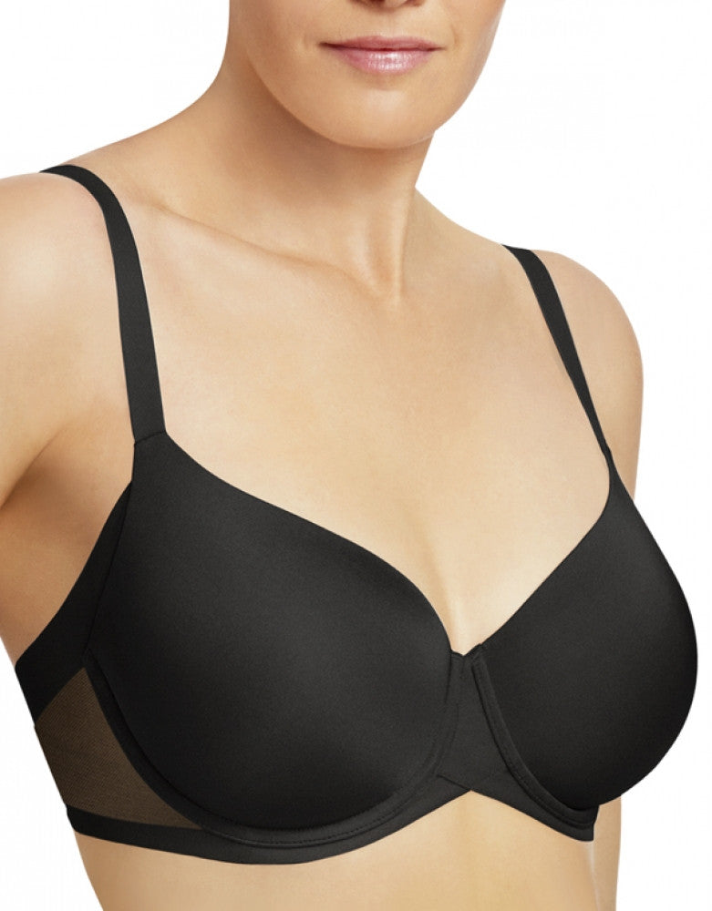 Black Front Wacoal Ultimate Side Smoother Contour Bra