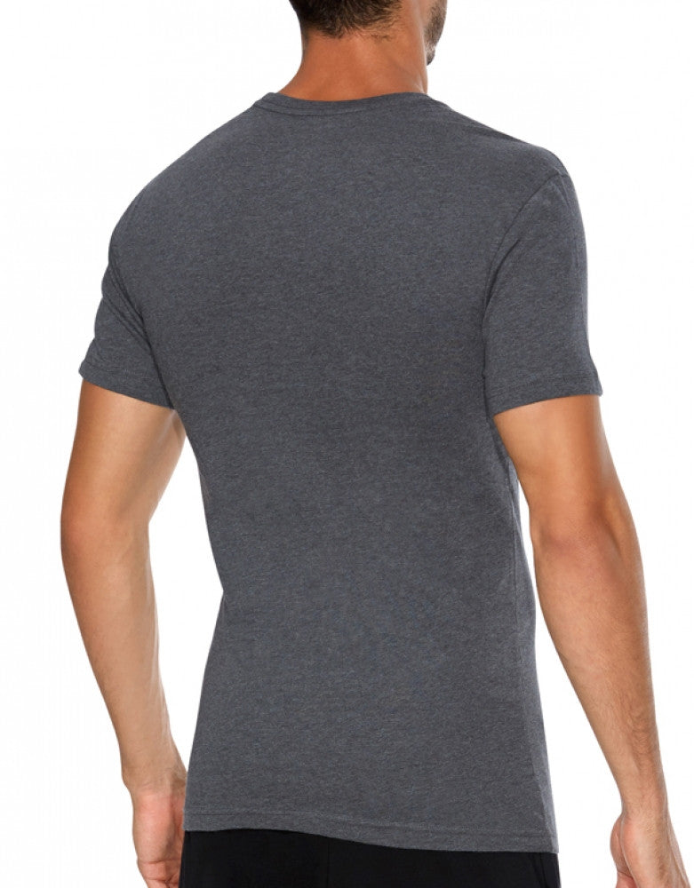 Black/Grey/Charcoal Back Polo Ralph Lauren 3-Pack Slim Fit Cotton Crew Neck T-Shirts