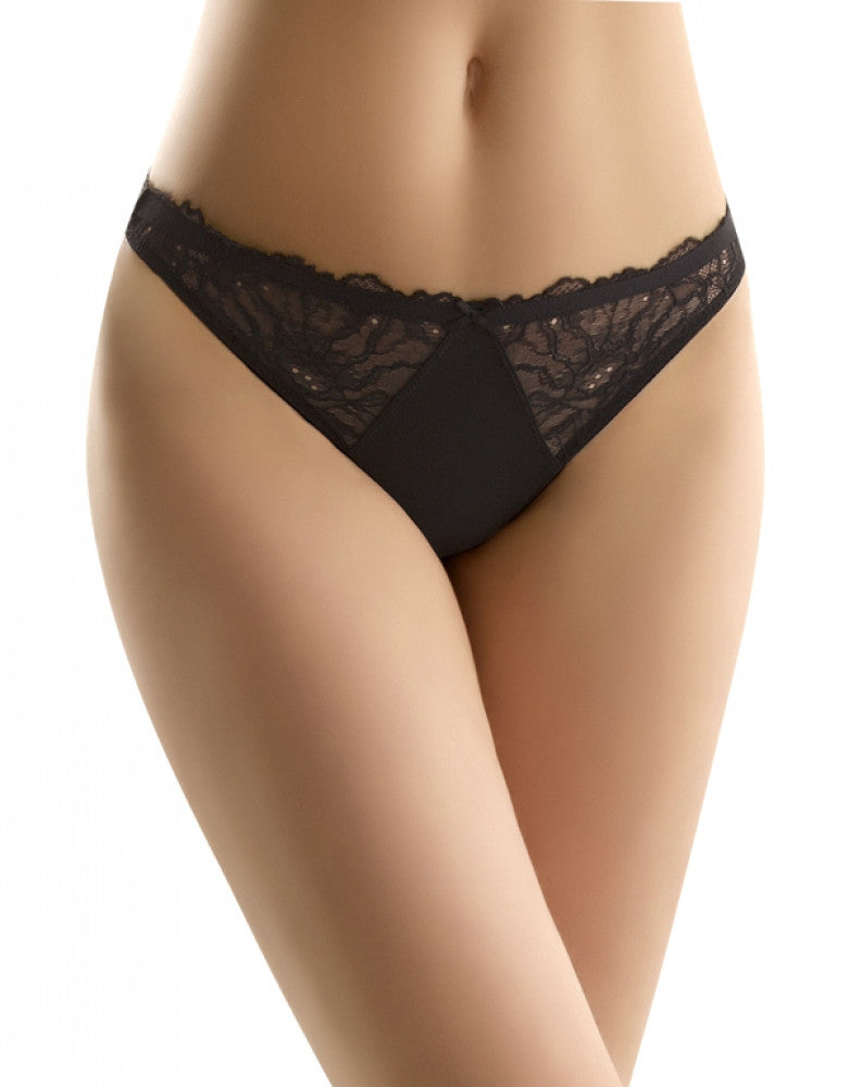 Night Front b.tempt'd by Wacoal B. Gorgeous Lace Thong