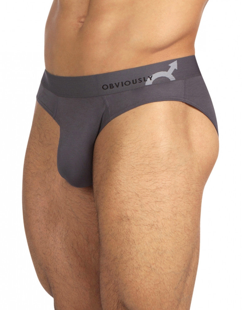 Graphite Side Obviously AnatoMAX Hipster Brief