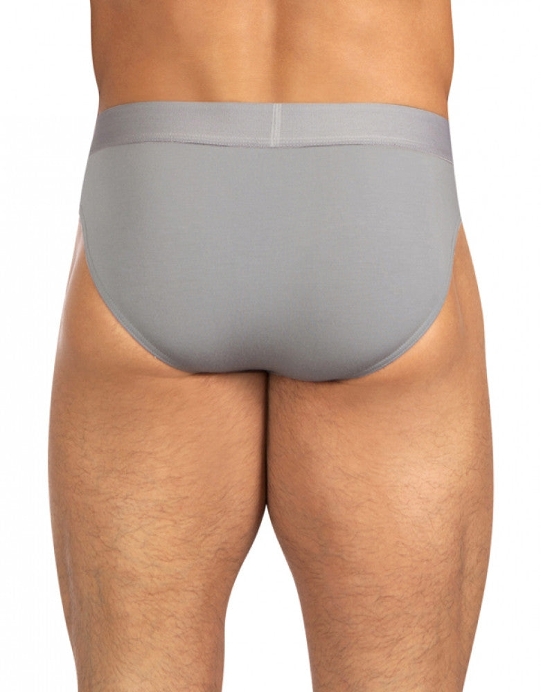 Grey Back Obviously AnatoMAX Hipster Brief