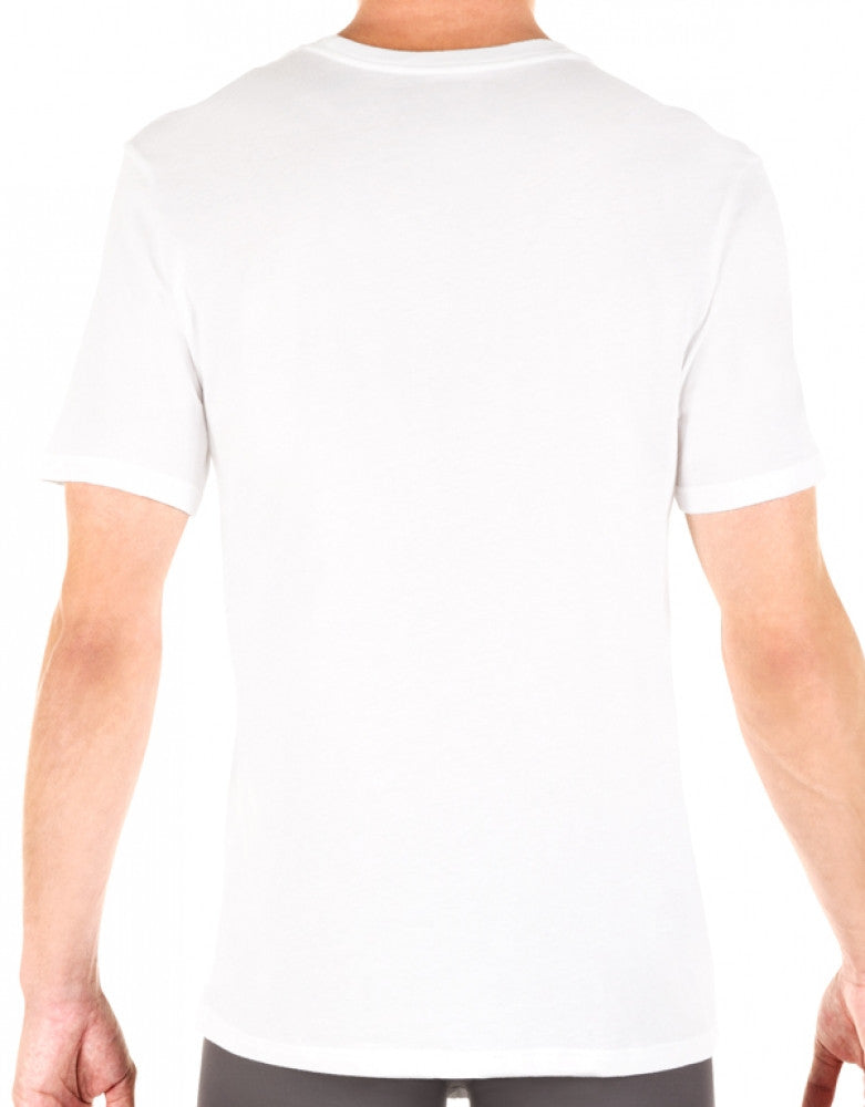 White Back Tommy Hilfiger 3-Pack Classic Crew Neck T-Shirts