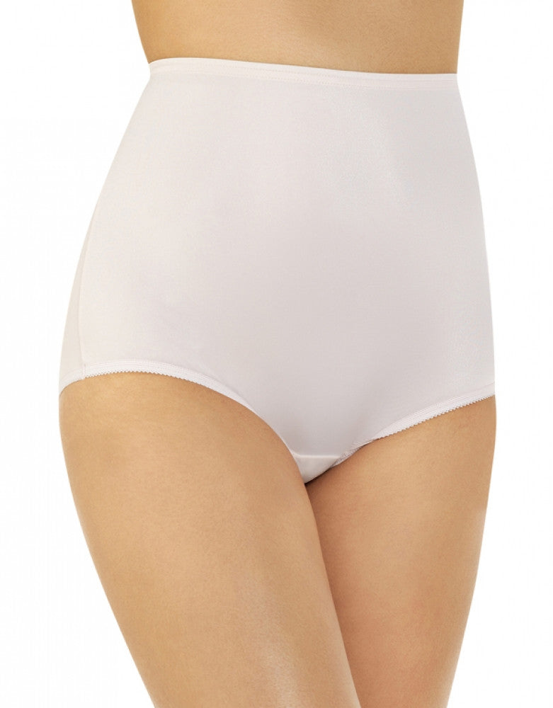 Champagne Front Vanity Fair Perfectly Yours Ravissant Premium Tailored Nylon Brief