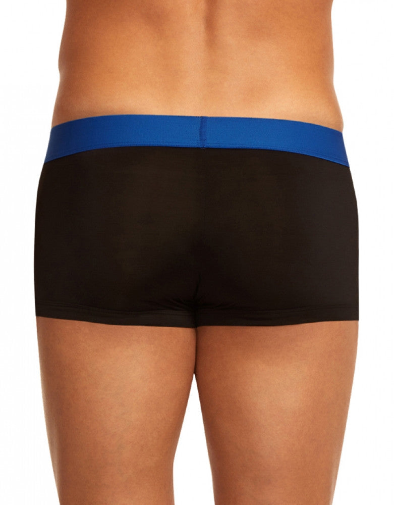 Blue/Black Back Papi 2-Pack Microflex Brazilian Trunks